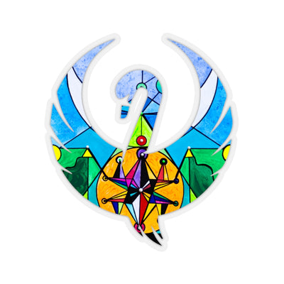 Manifestation Lightwork Model - Frequency Swan Stickers