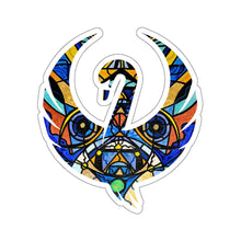 Load image into Gallery viewer, Sirian Solar Invocation Seal - Swan Stickers