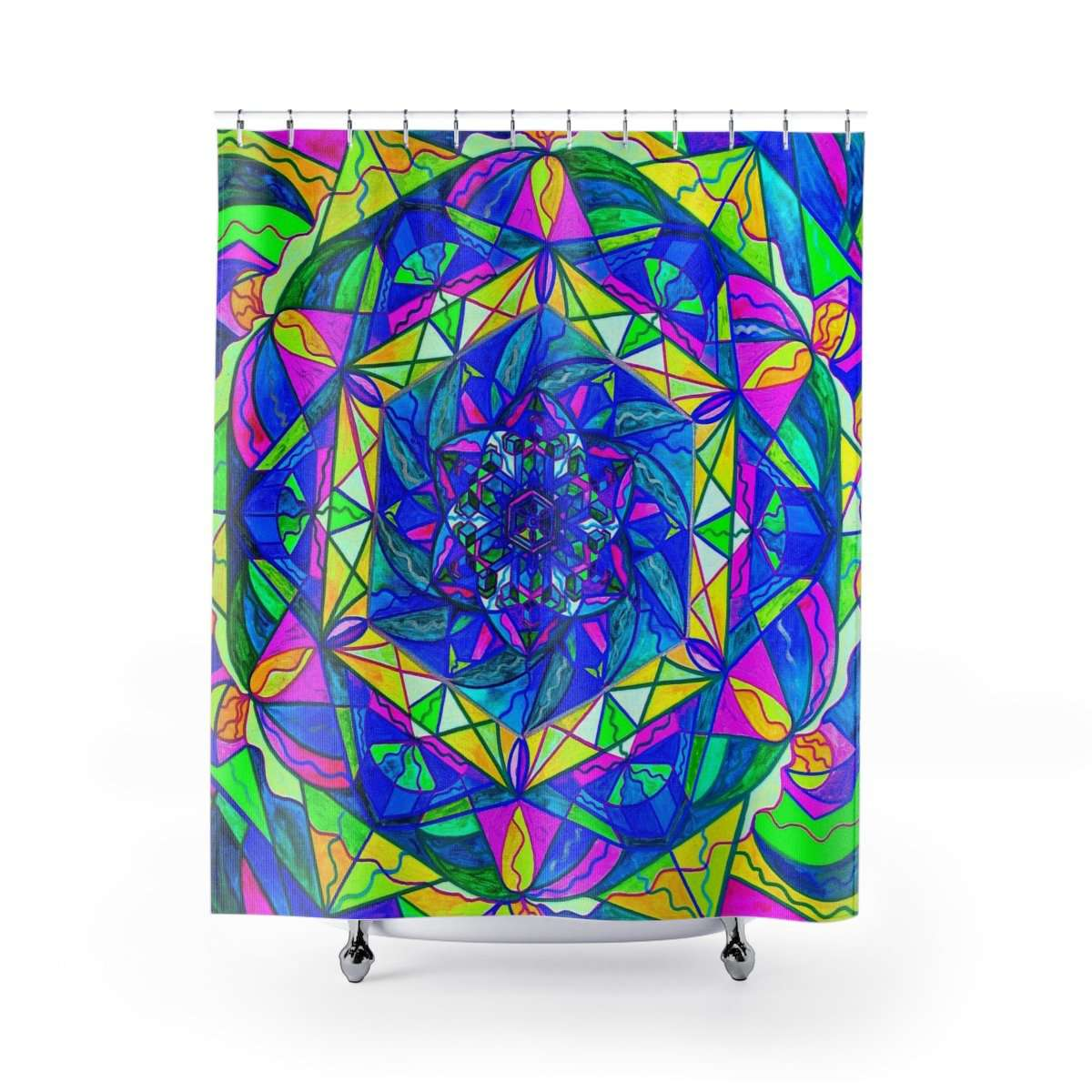 Positive Focus - Shower Curtains
