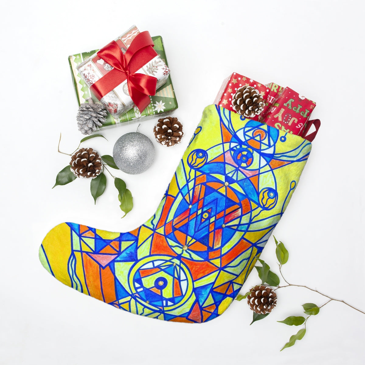 Happiness Pleiadian Lightwork Model - Christmas Stockings