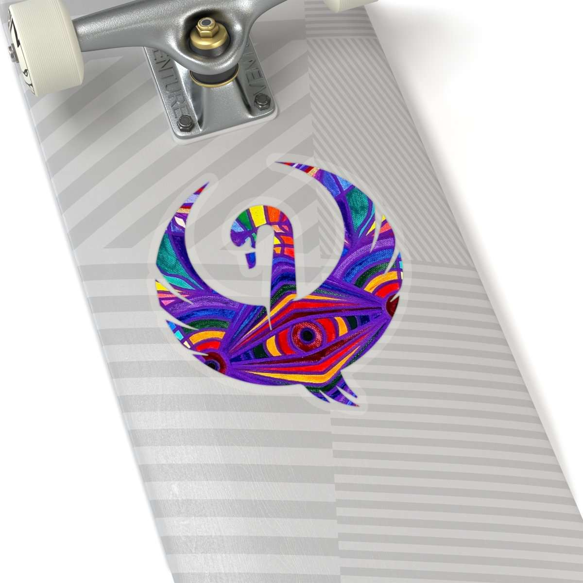 Raise Your Vibration - Swan Stickers
