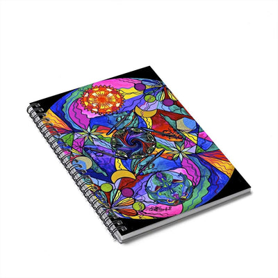 Awakened Poet - Spiral Notebook