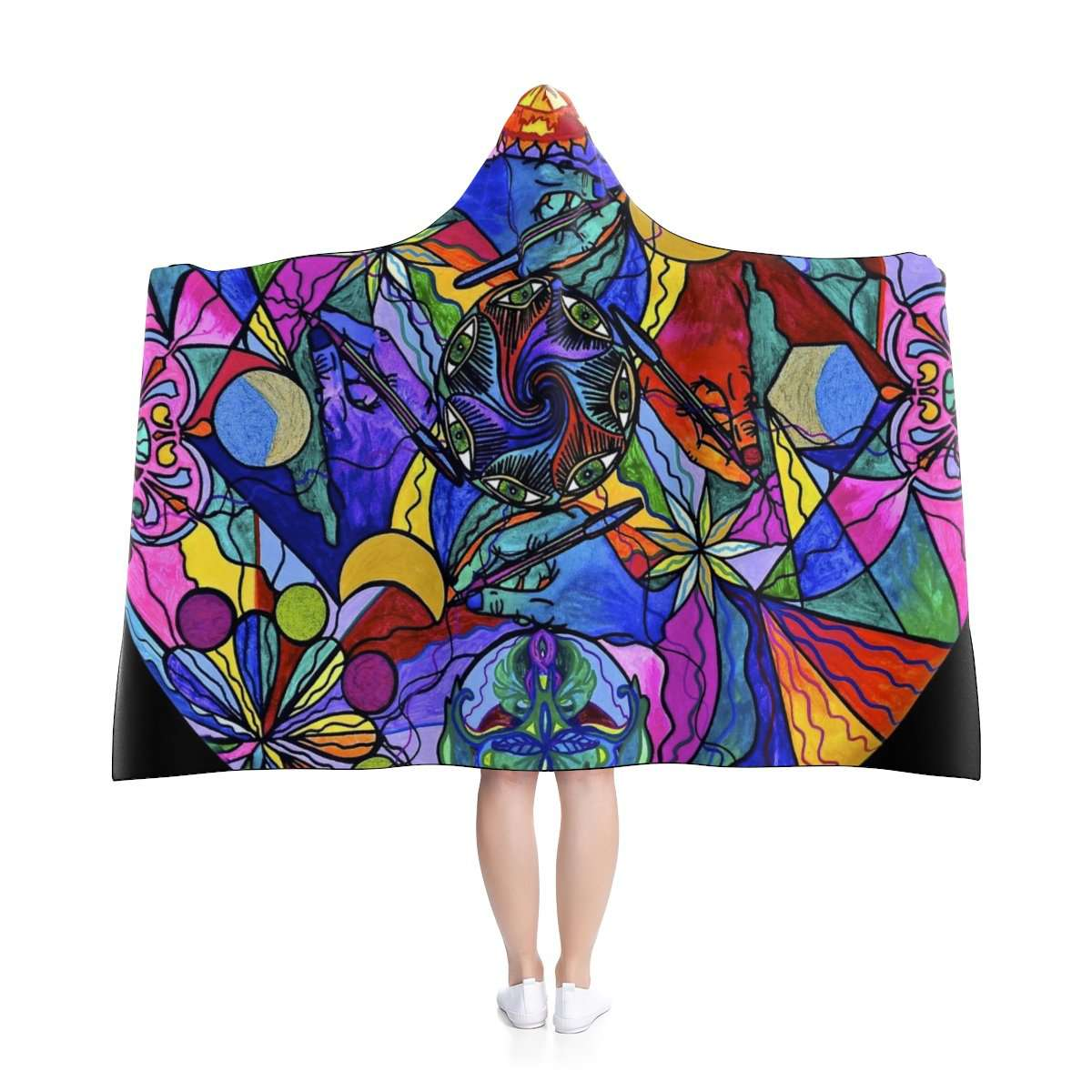 Awakened Poet - Hooded Blanket