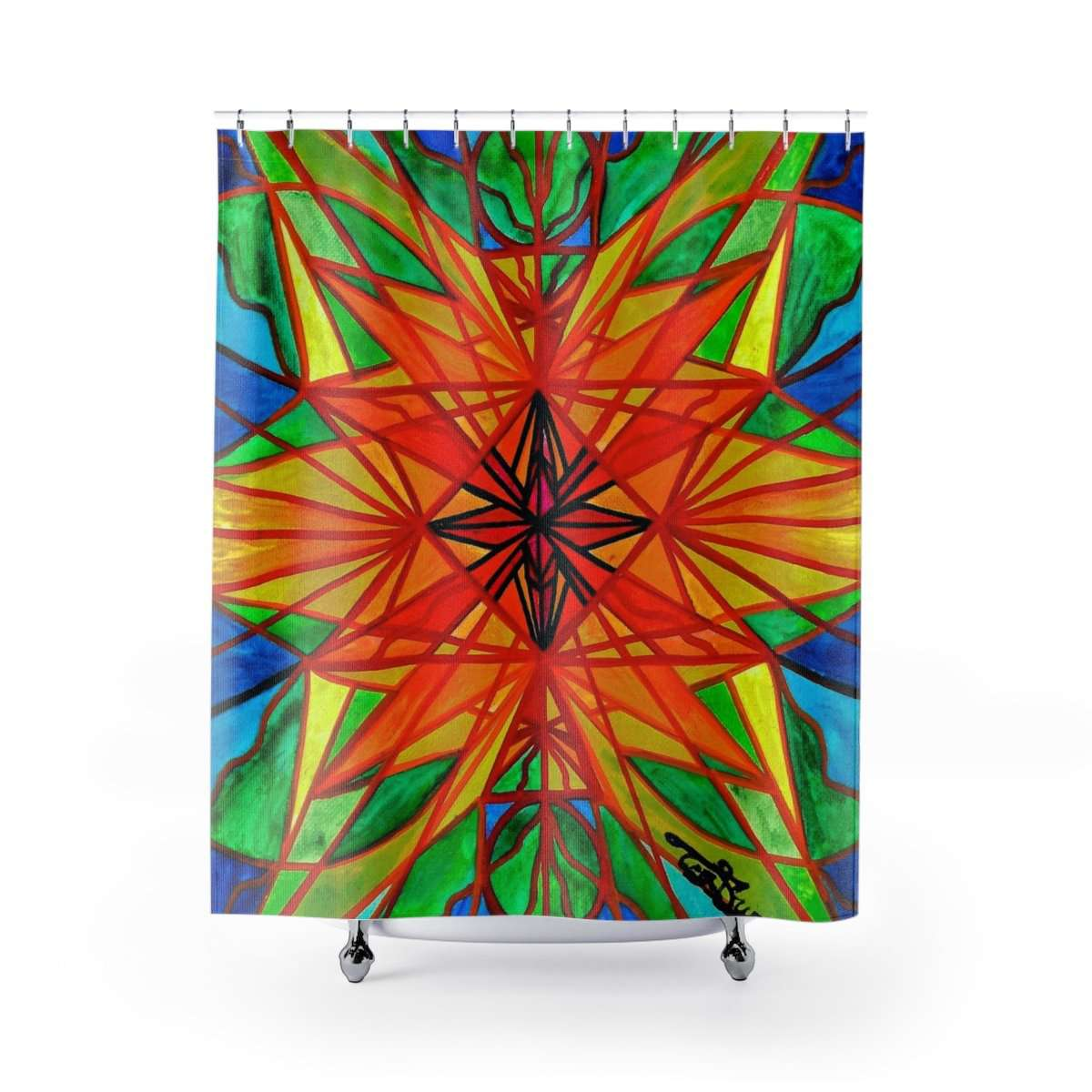 Self Liberate - Shower Curtains