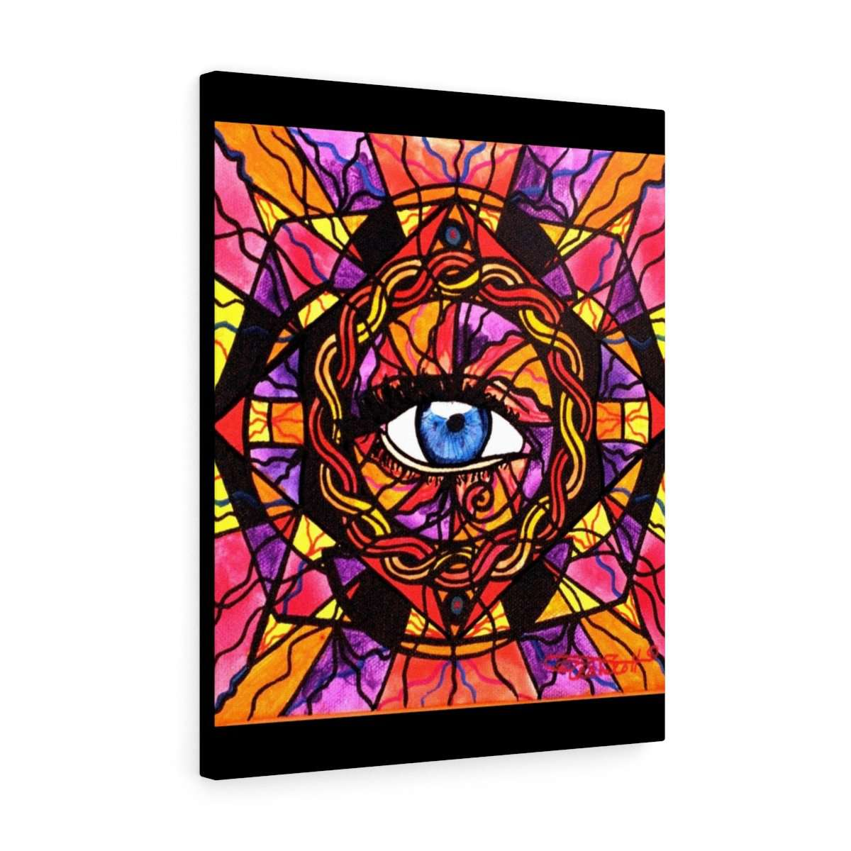 Confident Self Expression - Stretched canvas