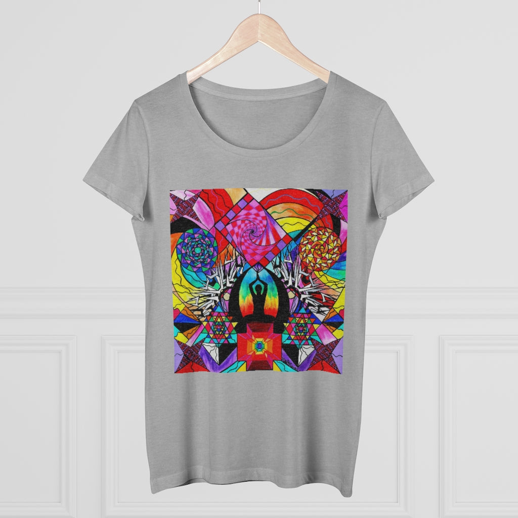 Meditation Aid - Organic Women's Lover T-shirt
