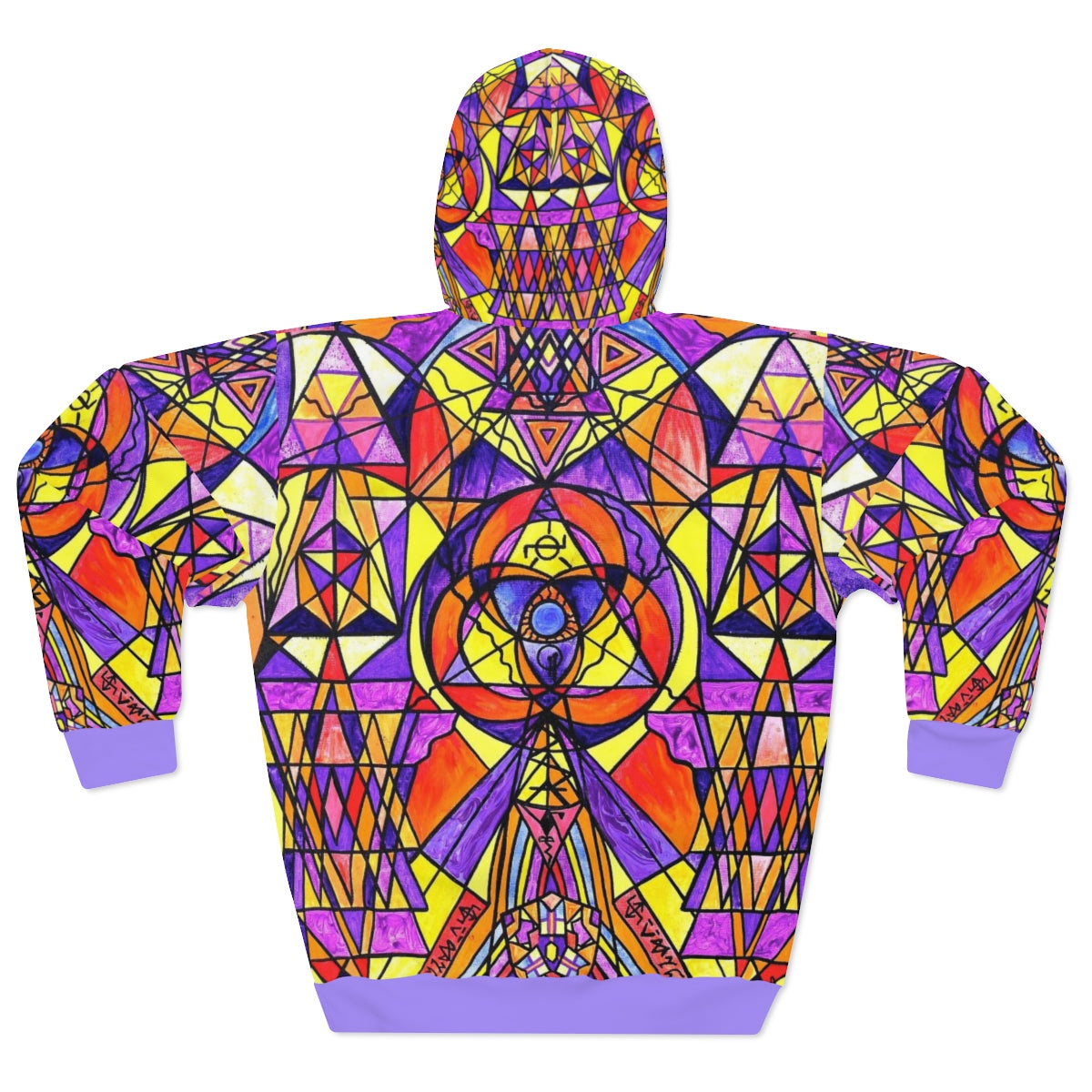 The Destiny Grid - AOP Unisex Pullover Hoodie