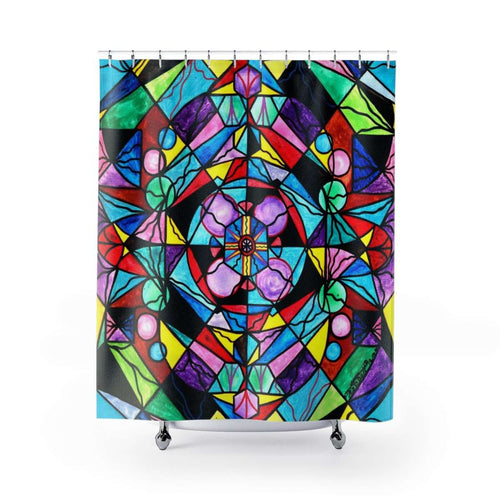 Sacred Geometry - Shower Curtains