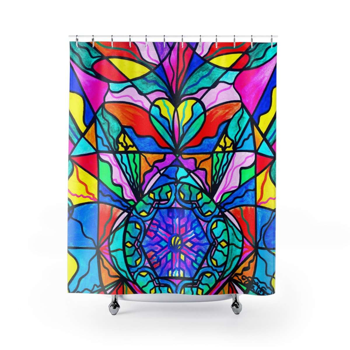 Anahata - Heart Chakra - Shower Curtains