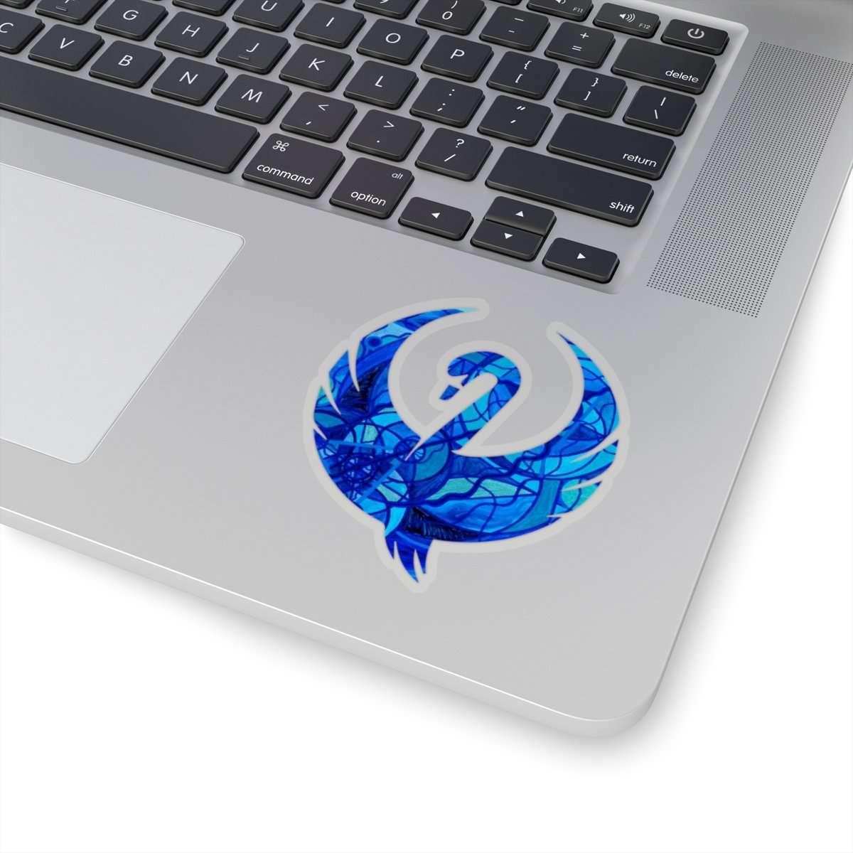Arcturian Calming Grid --Swan Stickers