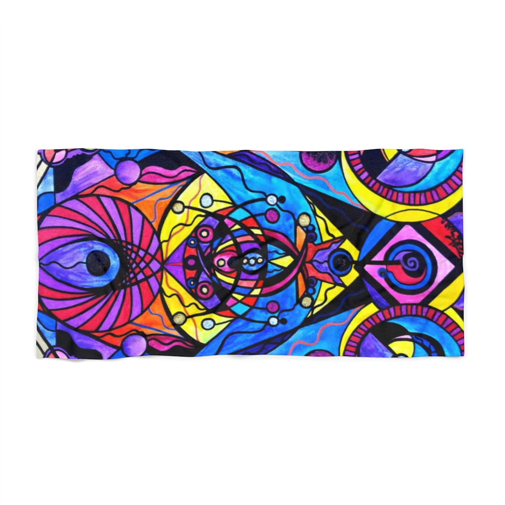 The Time Wielder - Beach Towel