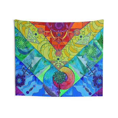 Expansion Pleiadian Lightwork Model - Indoor Wall Tapestries