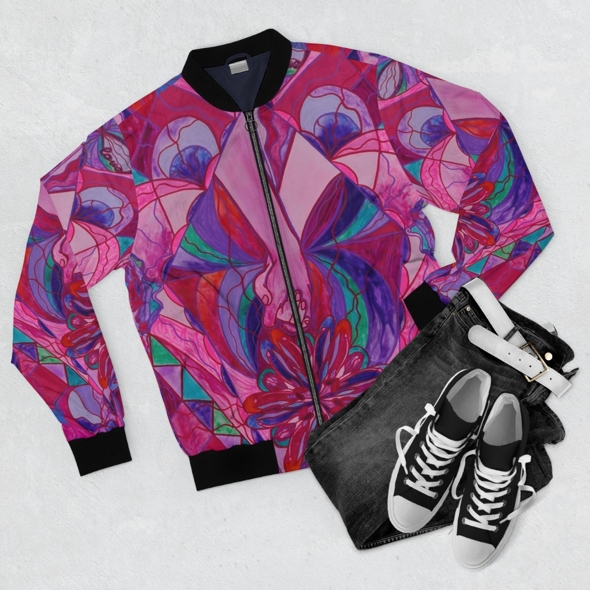 Human Intimacy-Bomber Jacket