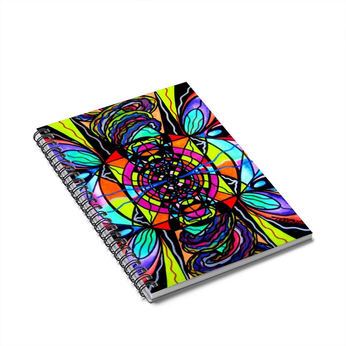 Planetary Vortex - Spiral Notebook
