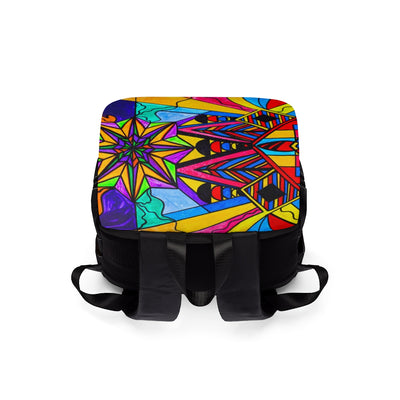 A Change In Perception - Unisex Casual Shoulder Backpack