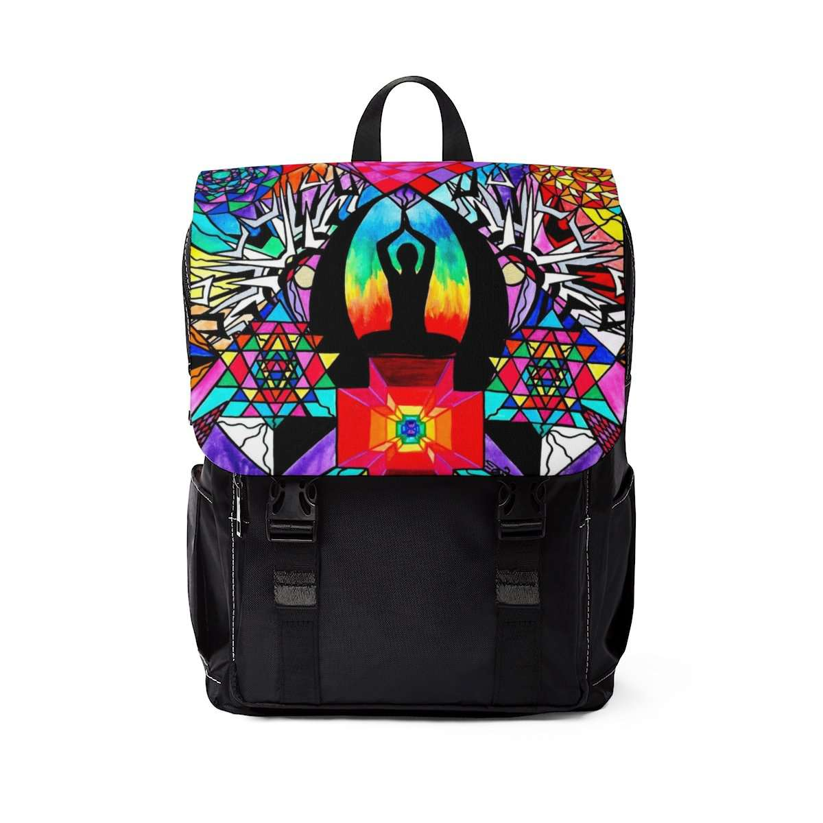 Meditation Aid - Unisex Casual Shoulder Backpack