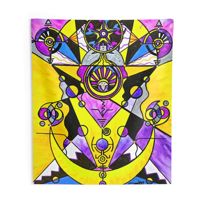Arcturian Personal Truth Grid - Indoor Wall Tapestries