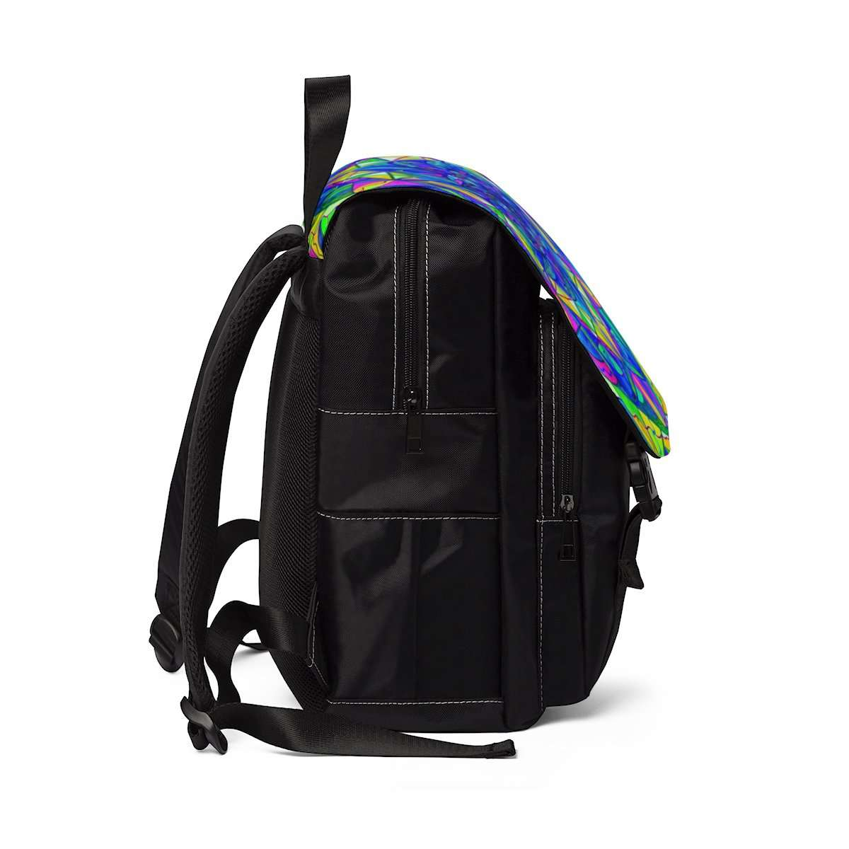 Positive Focus - Unisex Casual Shoulder Backpack