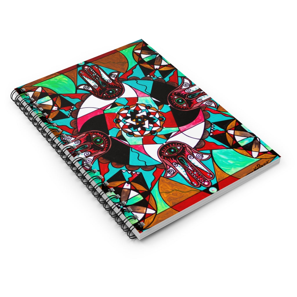 Aura Shield - Spiral Notebook