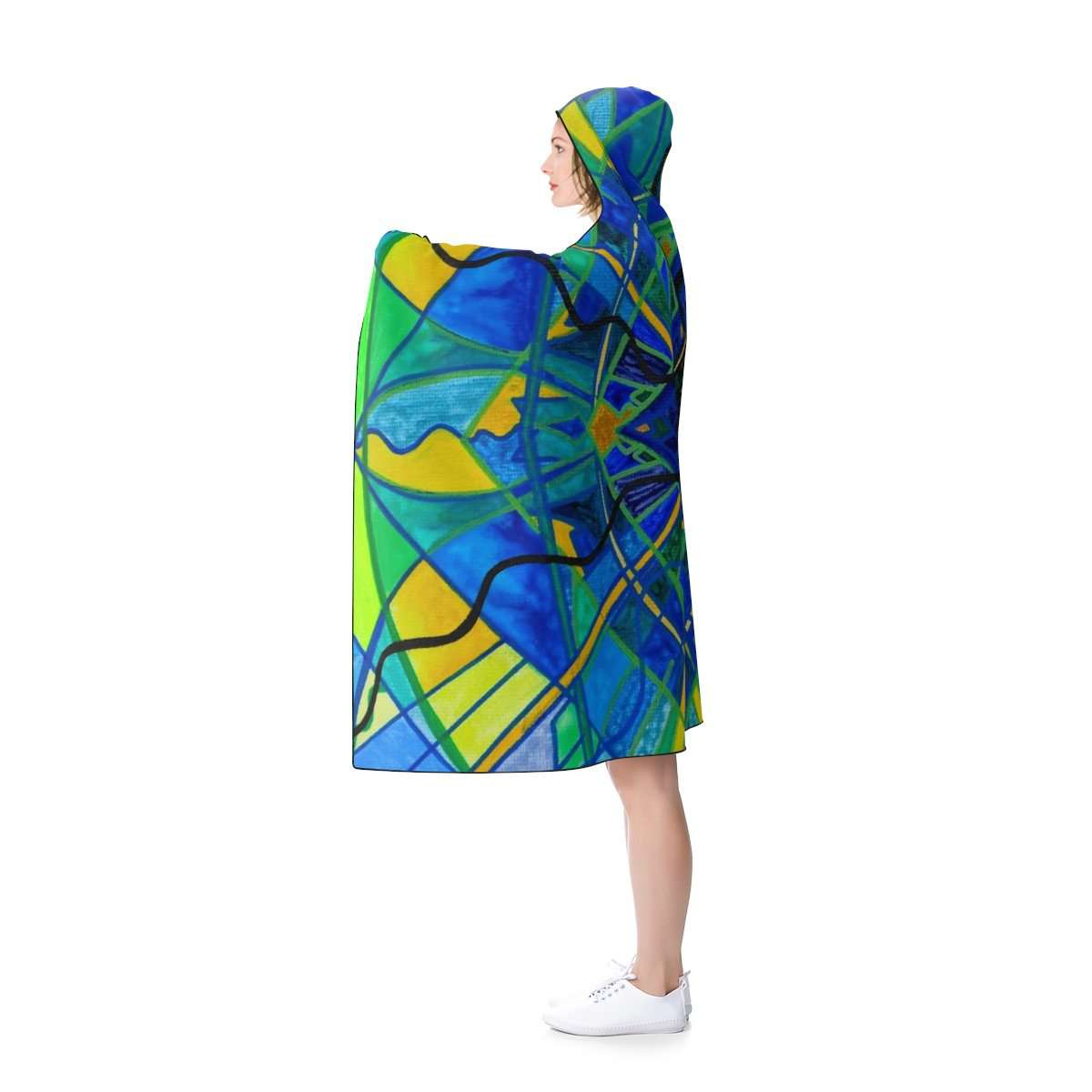 Emotional Expression - Hooded Blanket