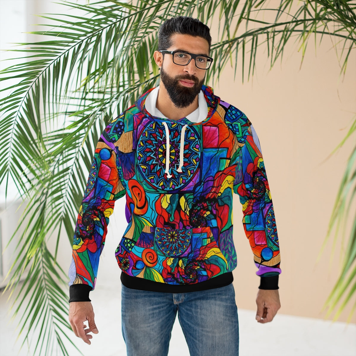 Self Exploration - AOP Unisex Pullover Hoodie