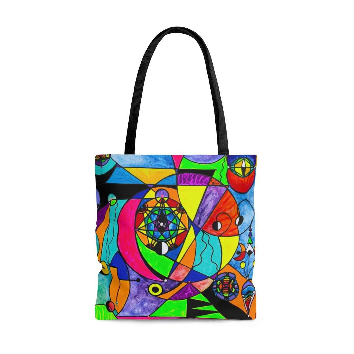 The Power Lattice - AOP Tote Bag
