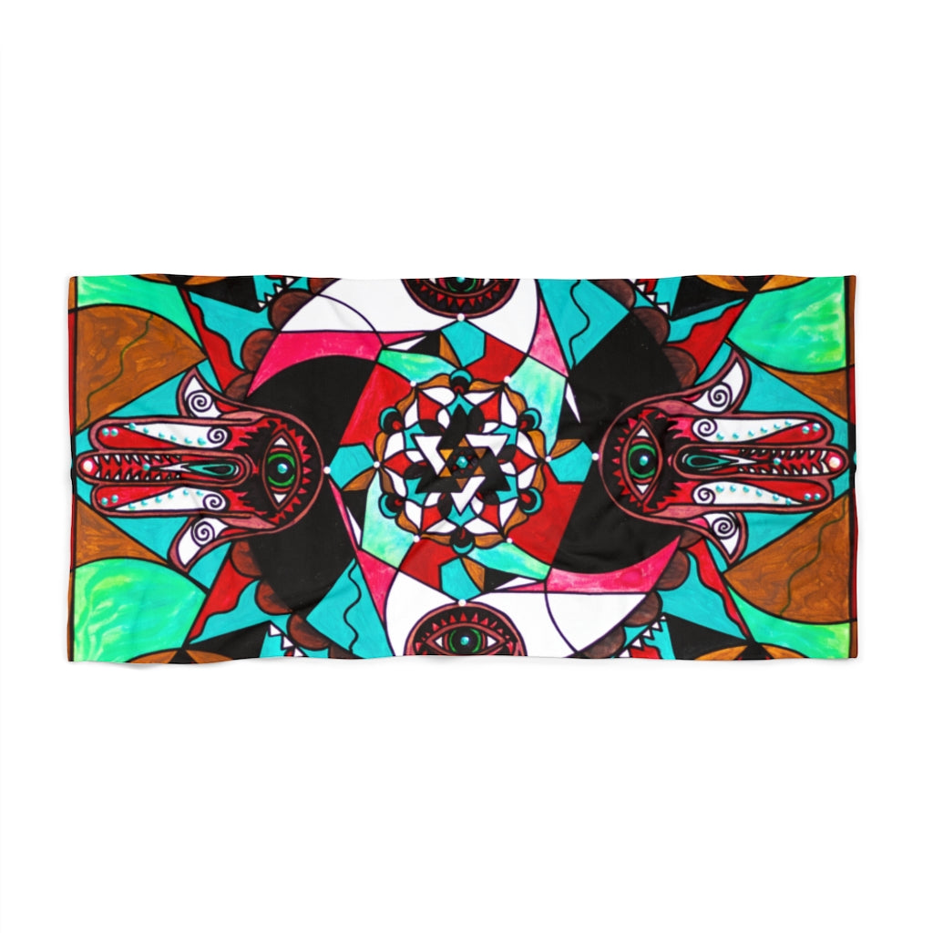 Aura Shield - Beach Towel