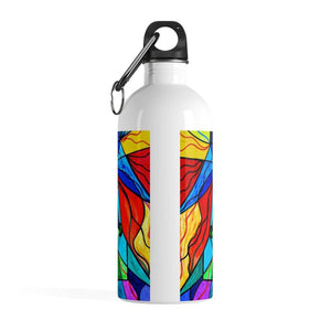 Arcturian Conjunction Grid - Stainless Steel Water Bottle