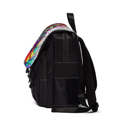 Return To Source - Unisex Casual Shoulder Backpack