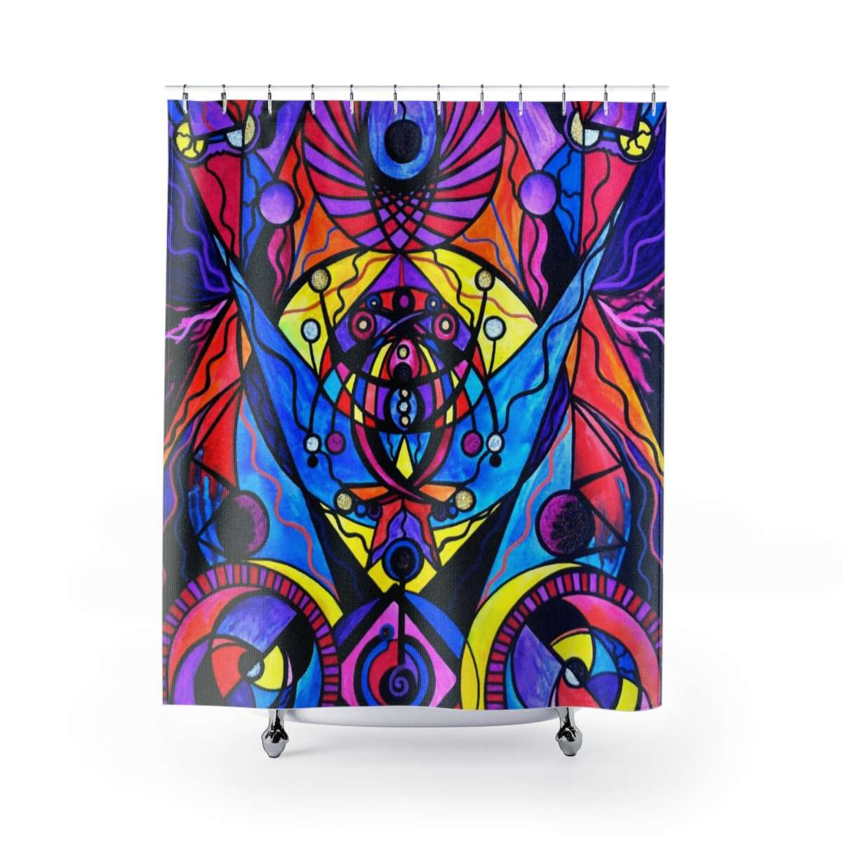 The Time Wielder - Shower Curtains