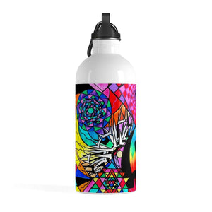 Meditation Aid - Stainless Steel Water Bottle