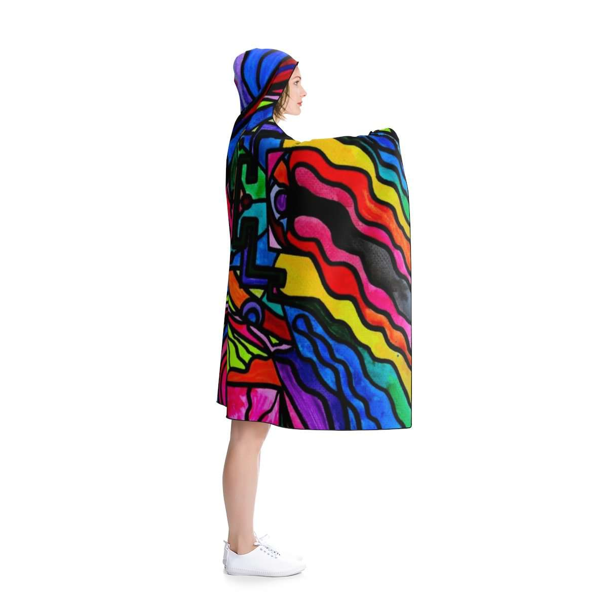 Non Attachment - Hooded Blanket