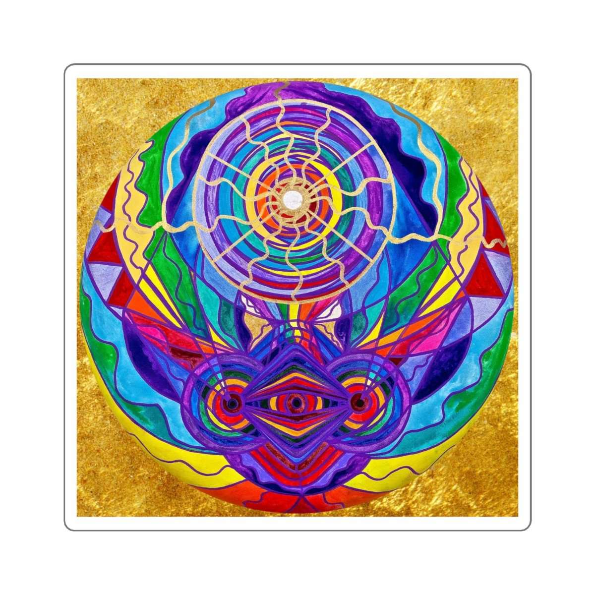 Raise Your Vibration - Square Stickers