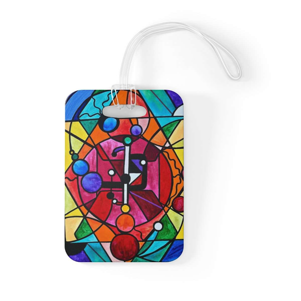 Arcturian Divine Order Grid - Bag Tag