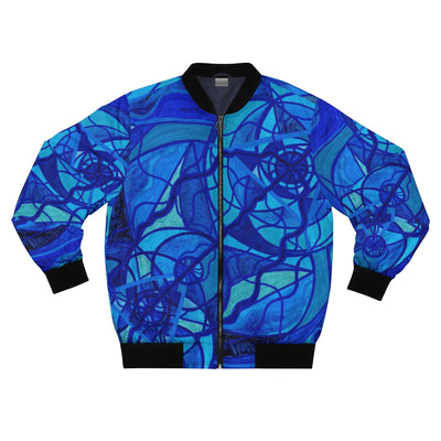 Arcturian Calming Grid - Bomber Jacket