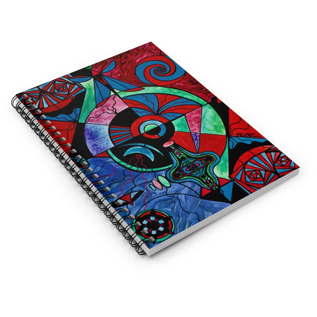 The Strong Bond - Spiral Notebook