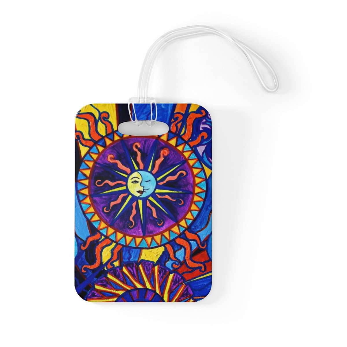 Sun and Moon - Bag Tag
