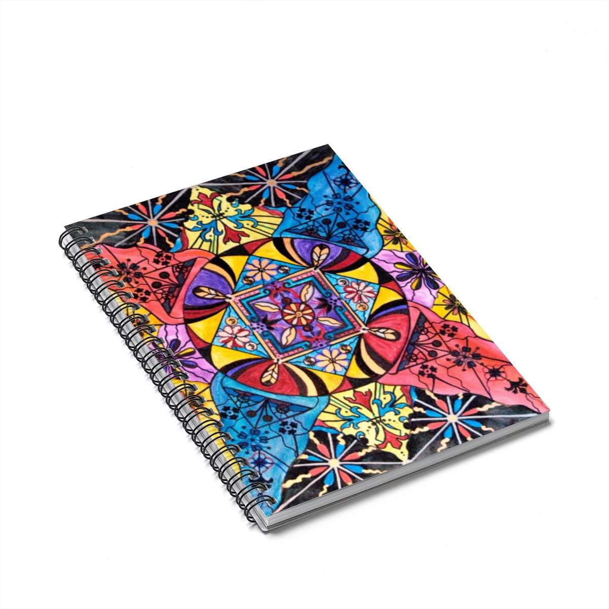 Worldly Abundance - Spiral Notebook