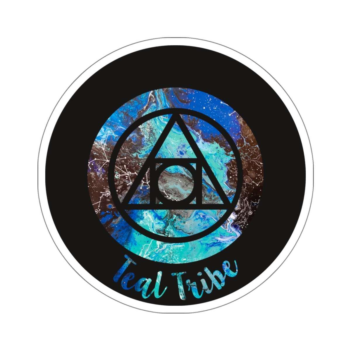 Teal Tribe Stickers
