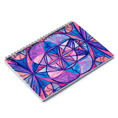 Feminine Interconnectedness - Spiral Notebook