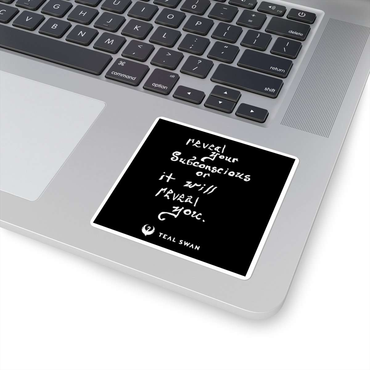Reveal Your Subconscious Quote - Square Stickers