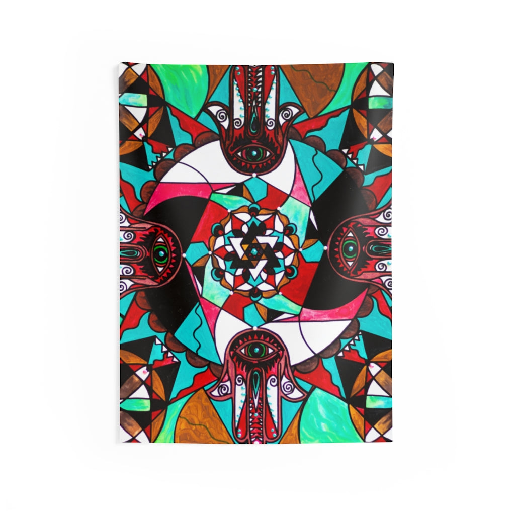 Aura Shield - Indoor Wall Tapestries