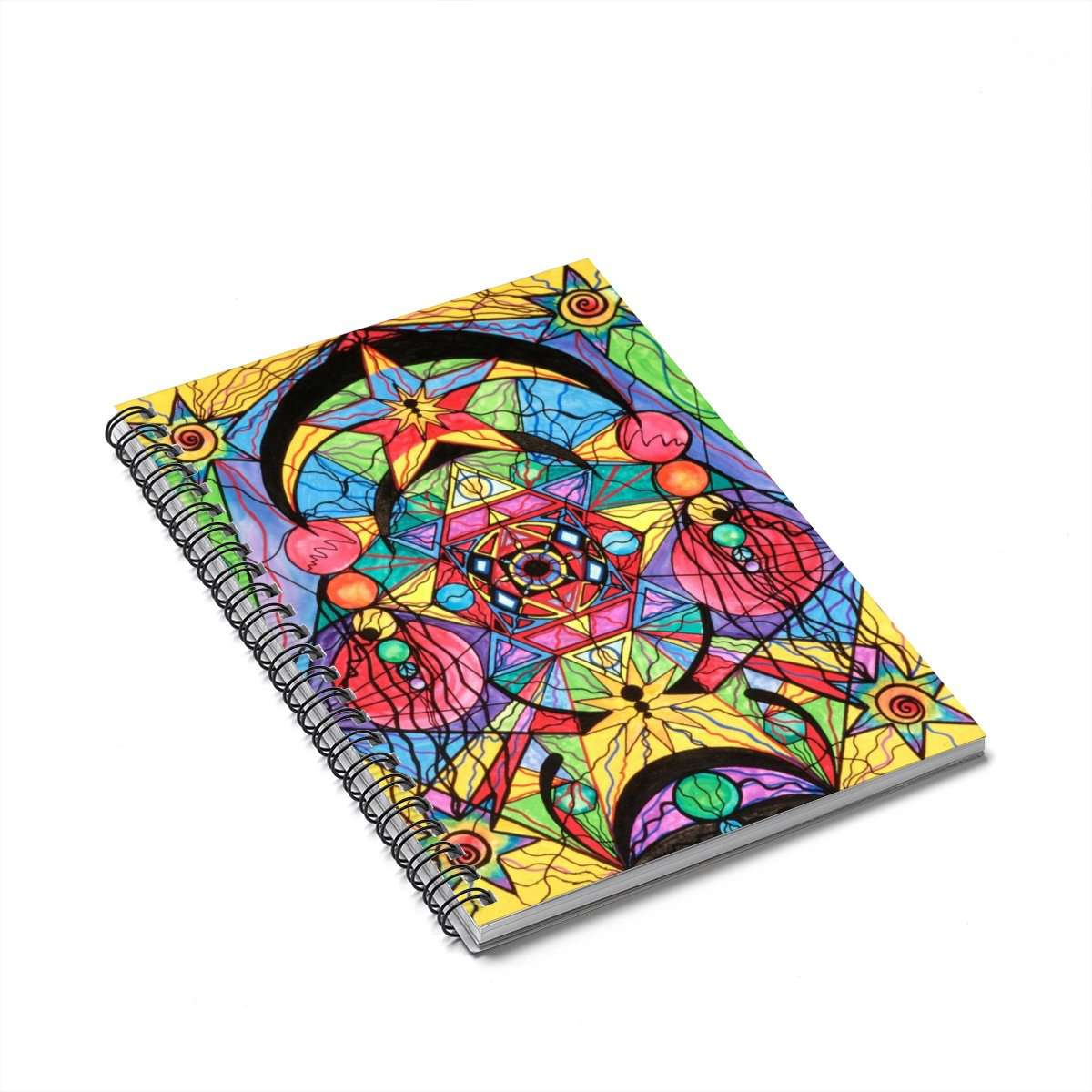 Produkt Arcturian Ascension Grid-Spiral Notebook