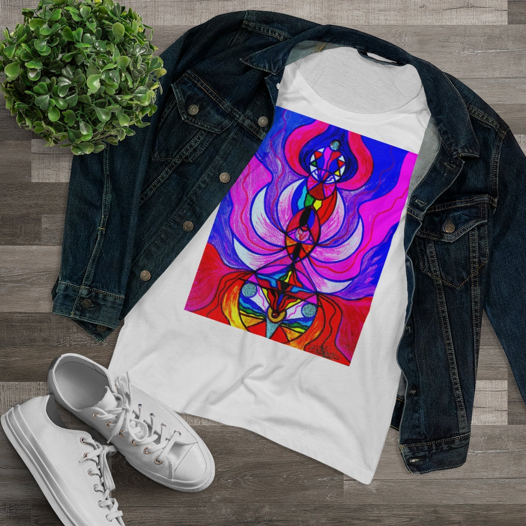 Divine Feminine Activation - Organic Women's Lover T-shirt