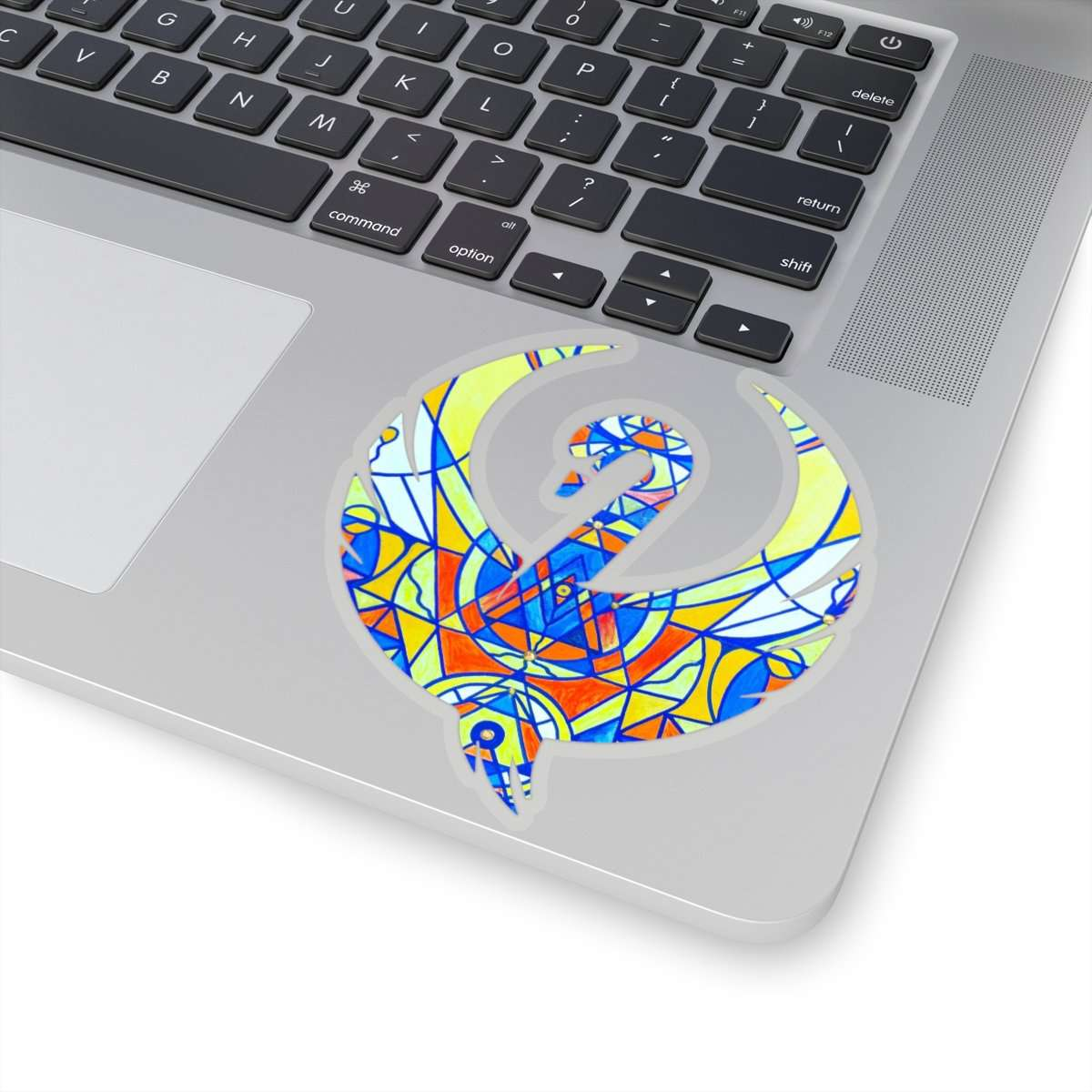 Happiness Pleiadian Lightwork Model - Swan Stickers