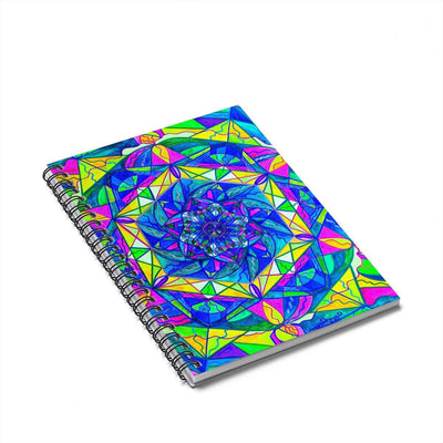 Positive Focus - Spiral Notebook