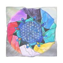 Load image into Gallery viewer, The Flower of Life - Frequency Scarf