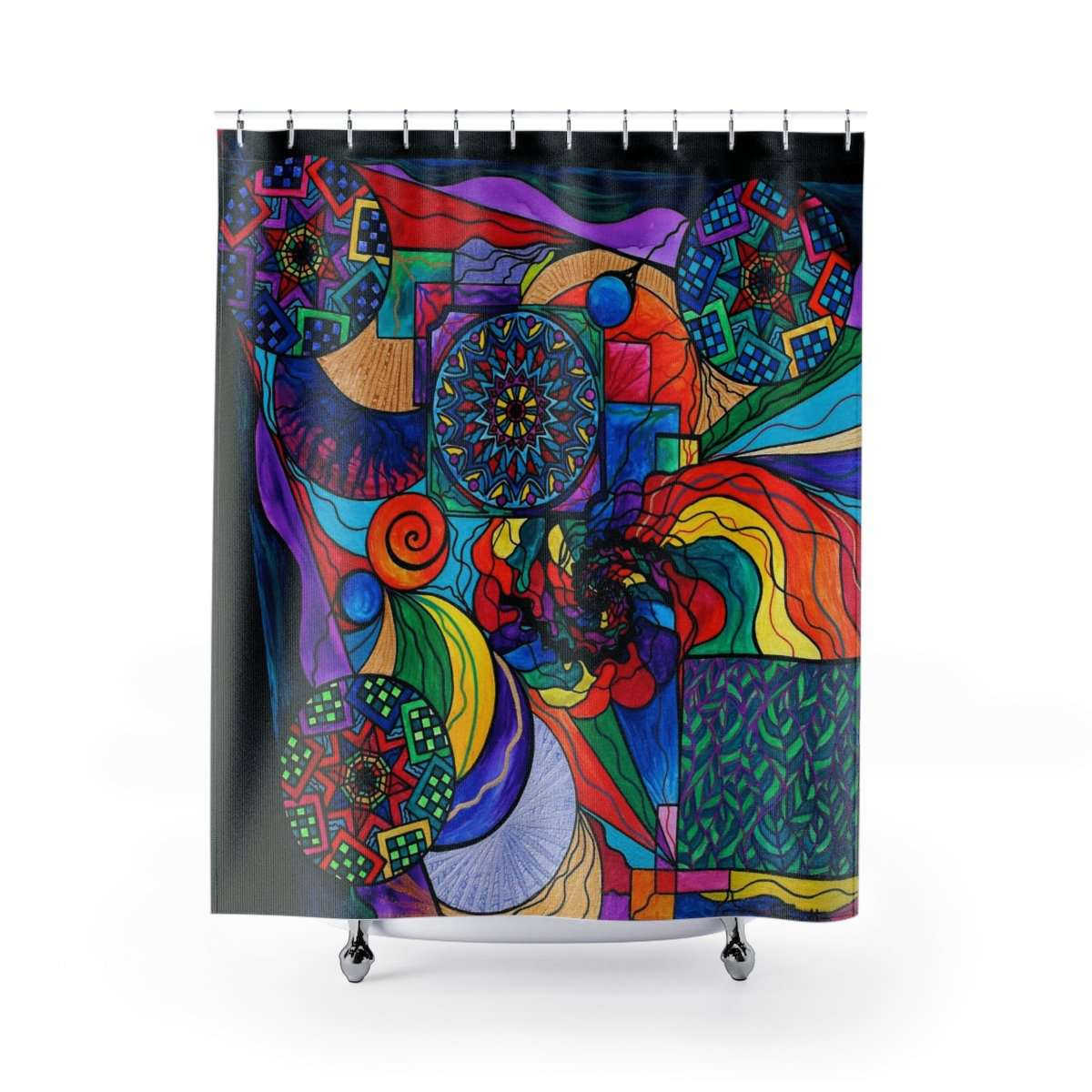 Self Exploration - Shower Curtains