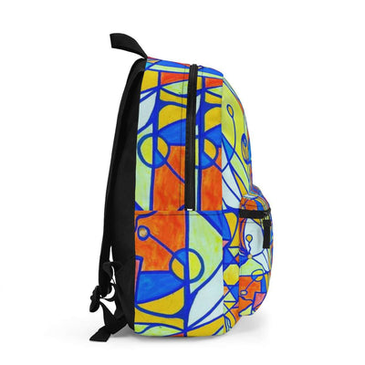 Happiness Pleiadian Lightwork Model - AOP Backpack