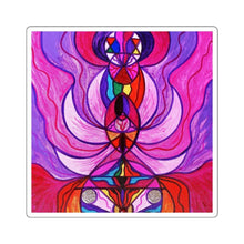 Load image into Gallery viewer, Divine Feminine Activation - Square Stickers